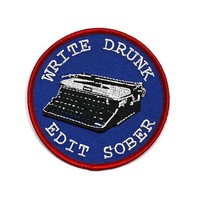 Write Drunk, Edit Sober Patch