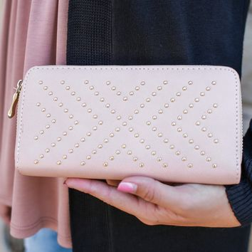 Casual Encounters Wallet - Blush