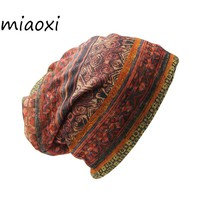 miaoxi Sale Women Fashion Hat Brand Ladies Design Hat Caps Girl Vintage Warm Cap Female Scarf Autumn Gorro Bonnet Girl Beanie
