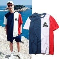 Short Sleeve Men's Fashion Hip-hop T-shirts [1004735332388]