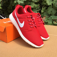 NIKE Women Men Running Sport Casual Shoes Sneakers red starry sky