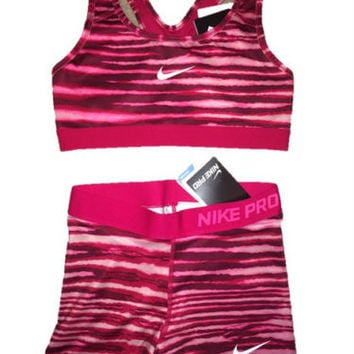nike spandex and sports bras