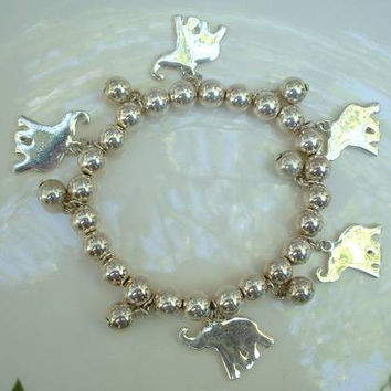 Elephant Expansion Charm Bracelet Jewelry