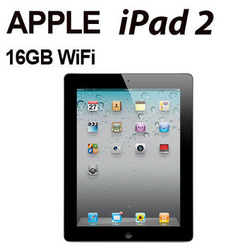 Apple iPad 2 16GB, Wi-Fi, 9.7in - Black (MC769LL/A)
