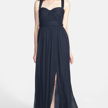 ML Monique Lhuillier Bridesmaids Jersey Chiffon