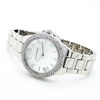 Glitz bezel metal watch (3 colors)