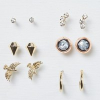 AEO Women's Stud Earring 6-pack (Gold)