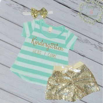Preschool Graduation Shirt Last Day of School Kindergarted Here I Come First Day of School Shirt Preschool Grad Shirt Last Day Outfit 229
