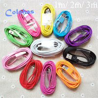 High Quality 1m 2m 3m 8 Pin USB Sync Data Charging Charger Cable for iPhone 6 6S 7 Plus 5 5S 5G 5C SE Perfect Fit For iOS 10