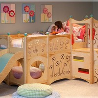 5 Cool Kids Playbeds Made of Natural Wood | Kidsomania