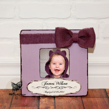 Godmother Gift Personalized Picture Frame Godparents Gift from Godchild Baptism Frame Christening Gift Custom frame Godchild Birth Gift
