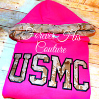 USMC Varsity pullover Usmc Girlfriend Usmc Wife Usmc Mom Marine Girlfriend Marine Wife Milso Military pullover Oorah Nametape bracelet