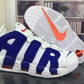 PEAPGE2 Beauty Ticks Nike Air More Uptempo 96 Scottie Pippen Knicks Basketball Shoes Size Us5.5-13