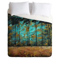 Madart Inc. Parting Of Ways 1 Duvet Cover