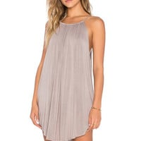 NYTT Lanette Dress in Taupe