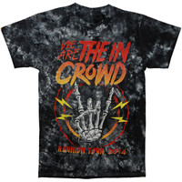 We Are The In Crowd Men's  Reunion Tour Vintage T-shirt Multi Rockabilia