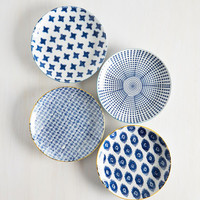 Boho My Fare Lady Plate Set by ModCloth