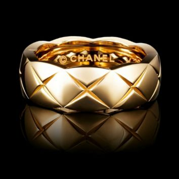 Shop Chanel Gold Ring on Wanelo