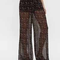 White Crow Floral Pant
