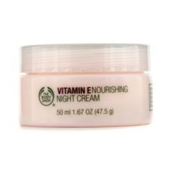 The Body Shop Vitamin E Nourishing Night Cream --50ml/1.67oz WOMEN