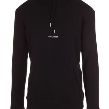 Black Hoodie by Saint Laurent