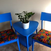 FREE SHIPPING Mid Century Chairs and triangle by chicagoattics