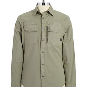 G-Star Raw Rackler Twill Zip Shirt