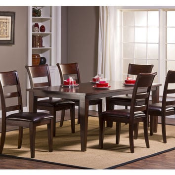 4692-park-avenue-7pc-dining-set-with-leg-table - Free Shipping!