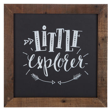 Little Explorer Wood Wall Decor | Hobby Lobby | 1283597