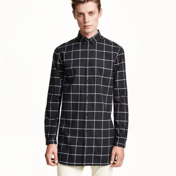 H&M Long Cotton Shirt $29.99