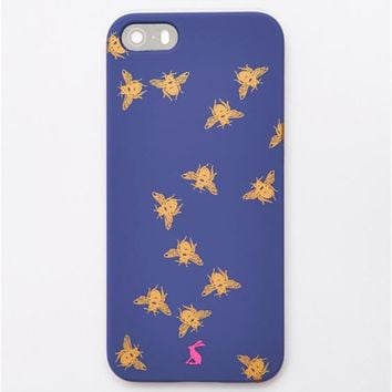 Navy Bee Iphone5case iPhone 5 Case , Size One Size | Joules UK