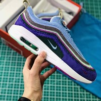 Gucci X Sean Wotherspoon X Air Max 1 / 97 Vf Sw Hybrid Violet Lavender Sport Running Shoes - Best Online Sale