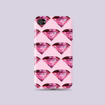 Fabulous Hot Pink Shine Diamond Hard Case - iphone 5 - iphone 4 - iphone 4s - Samsung S3 - Samsung S4 - Samsung Note 2