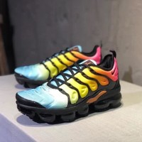 """""""Nike Air Vapormax Plus"""" Unisex Casual Personality Multicolor Air Cushion Running Shoes Couple Sneakers"""