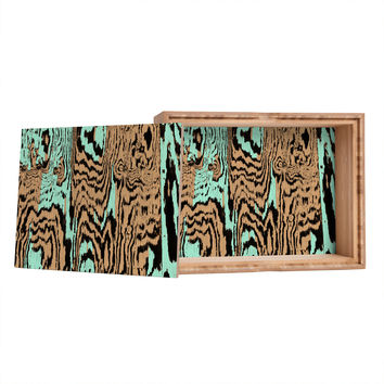 Caleb Troy Aqua Chocolate Safari Jewelry Box