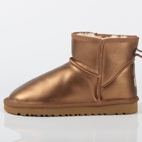 UGG winter new low top men and women models short tube warm plus velvet thick snow boots