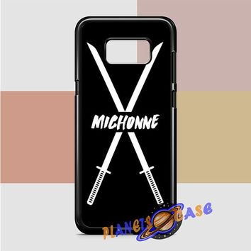 Michonne swords The Walking Dead Samsung Galaxy Case