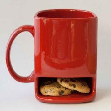 Red dunk mug by apiecebydenise on Etsy
