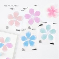 4PCS/LOT Mini Cute Sticky Notes Stationery Kawaii Stickers Scrapbooking Papeleria Stickers planner Memo pads Planner sticke 1914