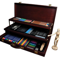 Royal & Langnickel Premier Sketching and Drawing Deluxe Art Set 134-Piece