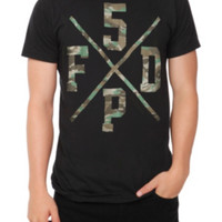 Five Finger Death Punch Camo X T-Shirt