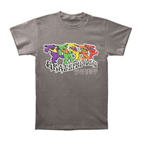 Grateful Dead Men's  Trippy Bears T-shirt Grey Rockabilia