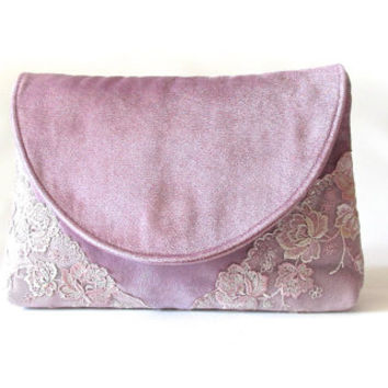 Dusty pink Bridal Clutch, Bridesmaid Gift, Party Clutch, Wedding Clutch, Bridal Shower Gift, Mother Of The Bride Gift,evening clutch purse