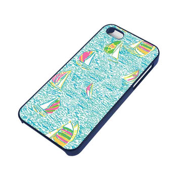 LILLY PULITZER SAILBOAT iPhone 5 / 5S Case
