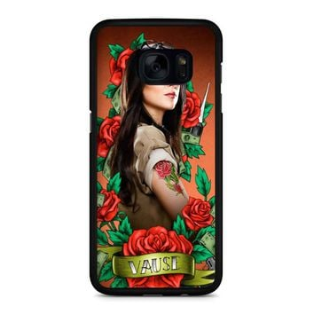 Orange Is The New Black Alex Vause 5 Samsung Galaxy S7 Edge Case
