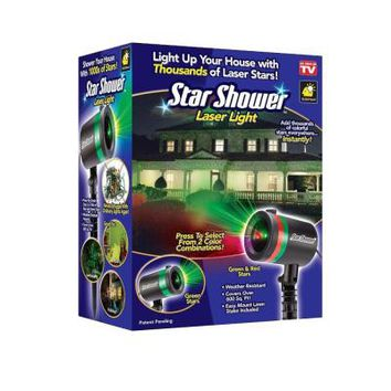 Star Shower Laser Light Projector (As Seen on TV)-9400-6 - The Home Depot