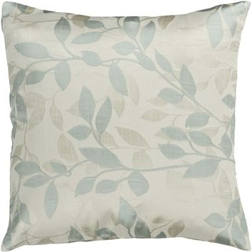 Wind Chime Throw Pillow Neutral, Green