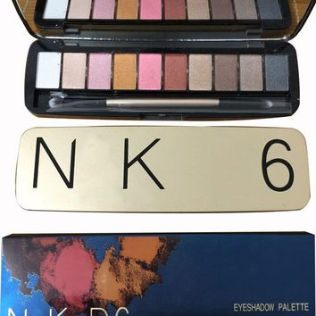 NK6 12 color Eyeshadow Palette