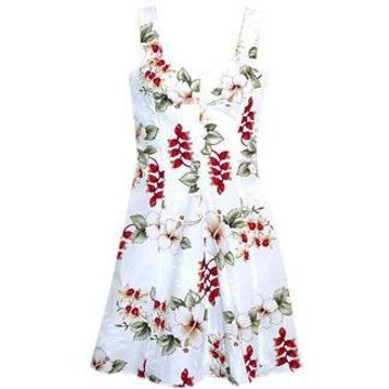 coconut hawaiian sundress