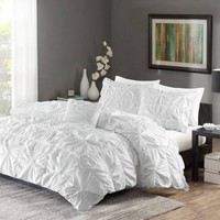Better Homes and Gardens Pintuck Bedding Duvet Cover Set - Walmart.com